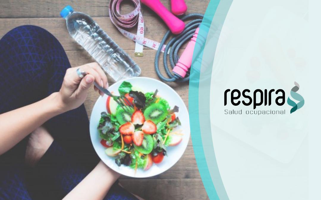 Recomendaciones nutricionales Salud Ocupacional